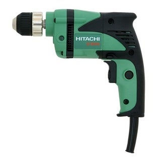 "Hitachi D10VH Variable-Speed Drill with 3/8"" Chuck"