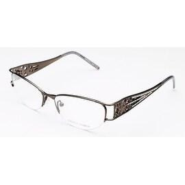 Judith Leiber Women's Micro Pav Eyeglasses Hematite - S