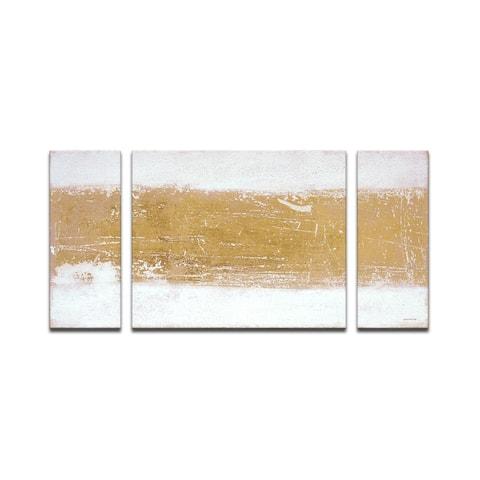 'Shimmering Light' Wrapped Canvas Wall Art Set by Norman Wyatt Jr.