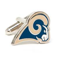Silver Plated St. Louis Rams Cufflinks