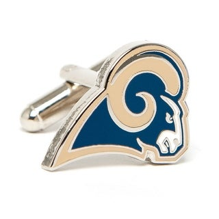 Silver Plated St. Louis Rams Cufflinks