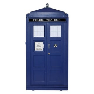 Doctor Who Plastic 12L TARDIS Mini Fridge Cooler (Blue)