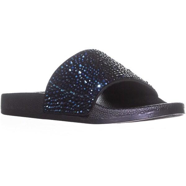 I35 Peymin2 Slip On Slide Sandals, Navy
