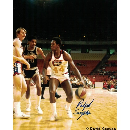 The Official Site Of The Denver Nuggets: Shop Ralph Simpson Autographed Denver Nuggets ABA 8x10