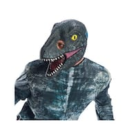 Adult Jurassic World Blue Velociraptor Dinosaur 3/4 Mask - Standard - One Size