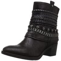 Carlos by Carlos Santana Womens Cole Almond Toe Ankle Fashion Boots