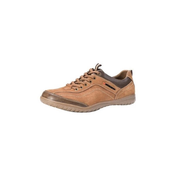 Muk Luks Casual Shoes Mens Carter Lace Up Leather Soft Lining
