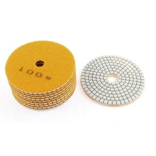 10Pcs Yellow 200 Grit 100mm Diamond Polishing Pads for Granite Marble Concrete|https://ak1.ostkcdn.com/images/products/is/images/direct/db670d6d9a73223779db1d4f5d2c93138b508095/10Pcs-Yellow-200-Grit-100mm-Diamond-Polishing-Pads-for-Granite-Marble-Concrete.jpg?impolicy=medium