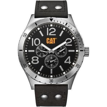 CAT Camden Multifunction mens Analg Watch Black