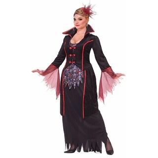 Lady Von Blood Vampira Costume Adult Plus Size