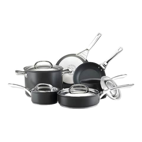Circulon 80580 Acclaim 10-Piece Nonstick Cookware Pots and Pans Set