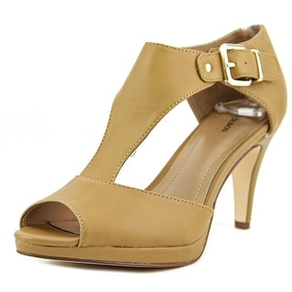 Style & Co Bethanee Open Toe Leather Sandals
