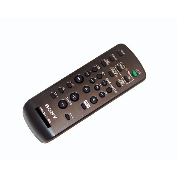 OEM Sony Remote Control Originally Supplied With: CMTFX200, CM-TFX200, LBTSH2000, LB-TSH2000, RMSCU37B, RM-SCU37B