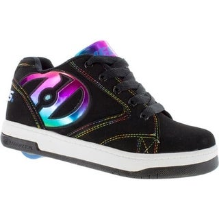 Heelys Children's Propel 2.0 Black/Rainbow Foil