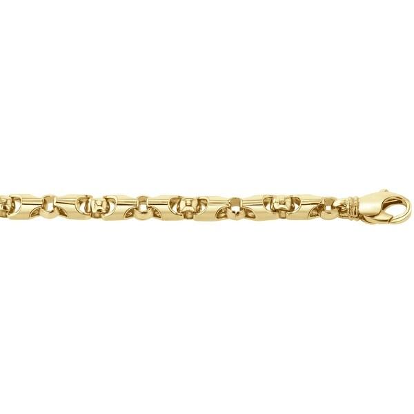 Men's 10K Gold 32 inch link chain