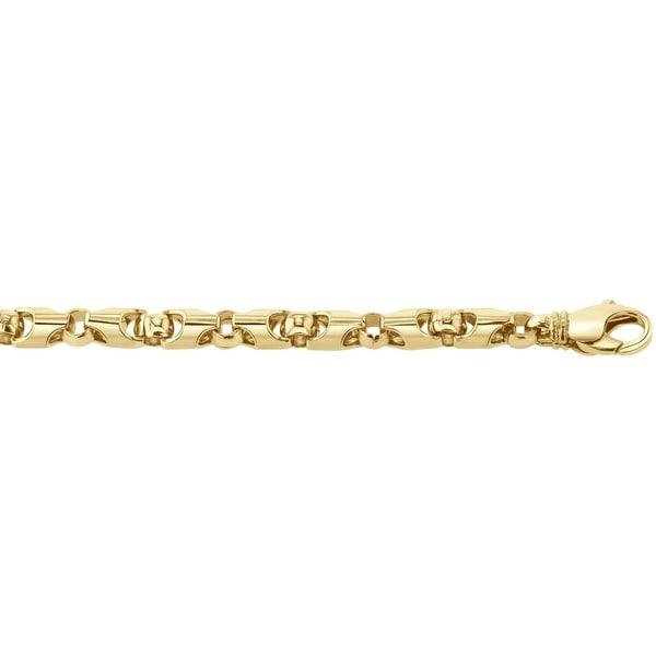 Men's 14k Gold 20 inch link chain