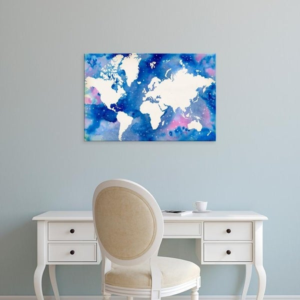 Easy Art Prints Grace Popp's 'Starry World' Premium Canvas Art