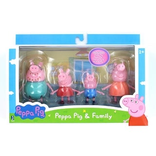 "Peppa Pig 3"" Peppa & Family Figure 4-Pack - multi"