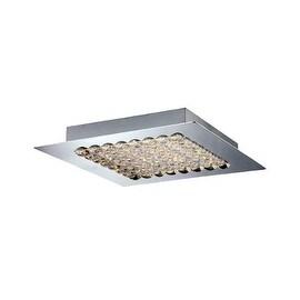 Eurofase Lighting 29102 Denso 1 Light LED Flush Mount Ceiling Fixture - Chrome