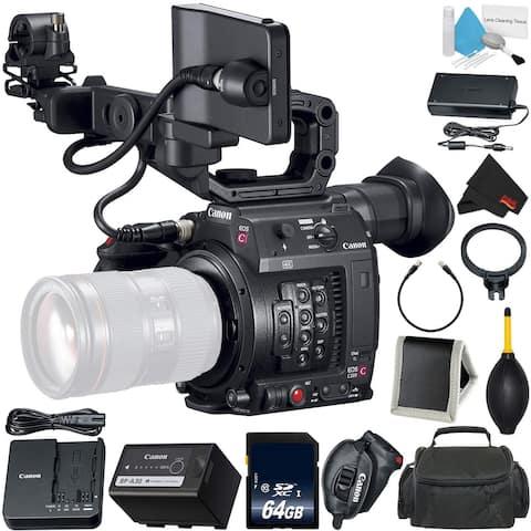Canon EOS C200 Cinema Camera -EF-Mount International Model (2215C002)