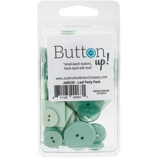 Button Up! Party Pack Buttons-Leaf