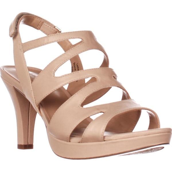 naturalizer Pressley Platform Strappy Dress Sandals, Taupe