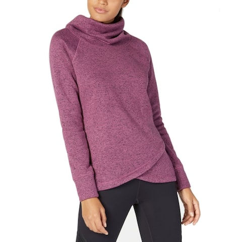 Ideology Women's Cowl-Neck Pullover, Petunia (M)