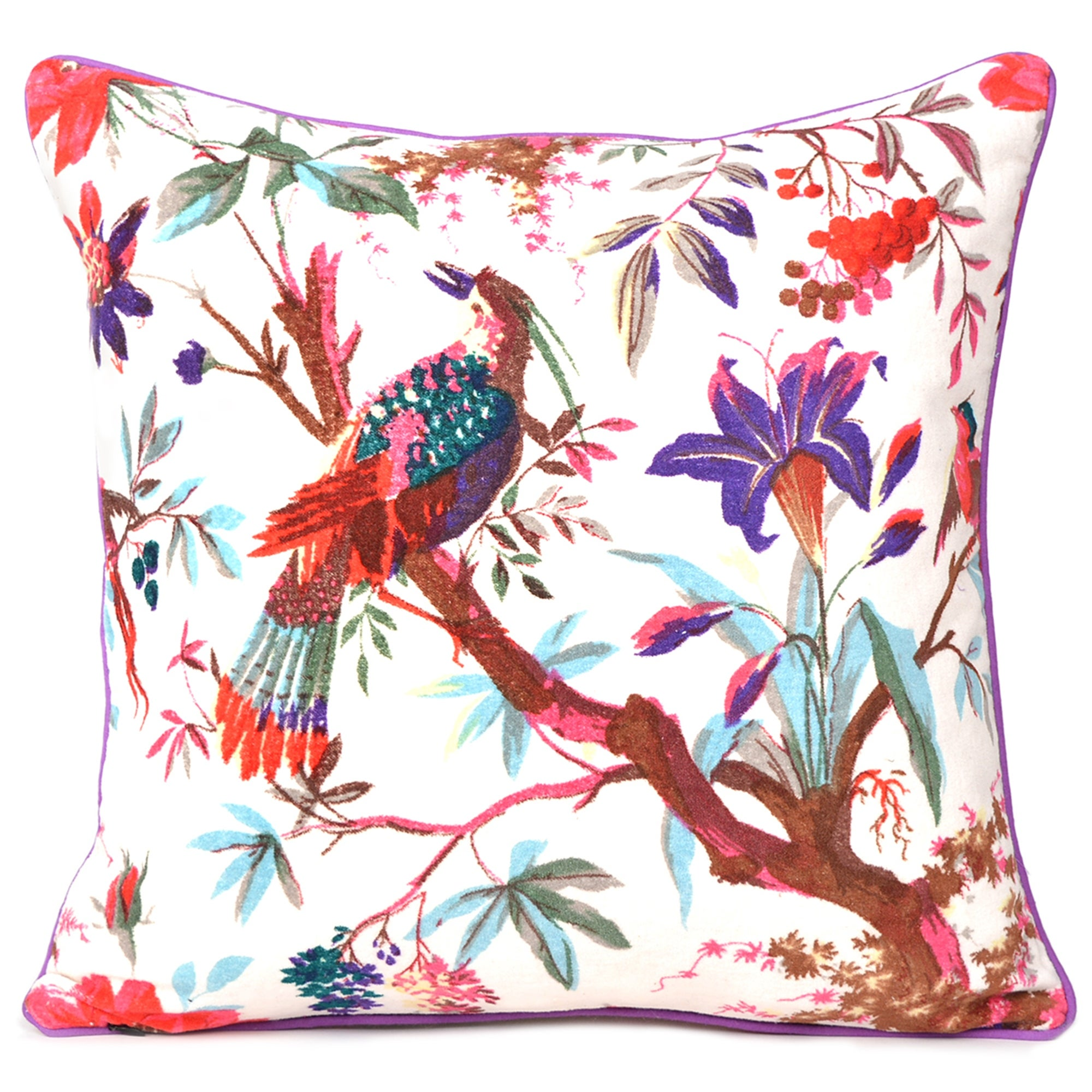 "Indian Cushion Cover Solid Print Home Decor Throw Silk Sofa Case 16/""X16/"" New"