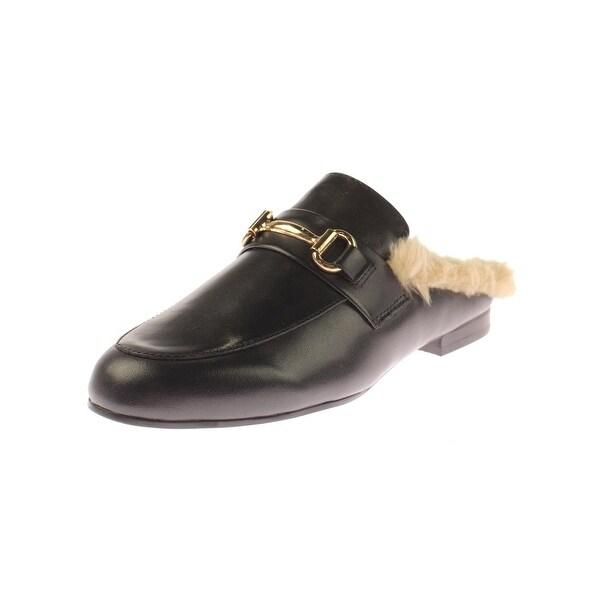 5d62521858e Shop Steve Madden Womens Jill Fashion Loafers Faux Fur - Free ...