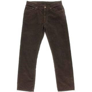 Polo Ralph Lauren Mens Corduroy Pants Straight Fit 5-Pocket