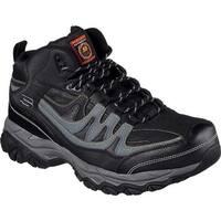 Skechers Men's Work Relaxed Fit Holdredge Rebem Steel Toe Hiker Black/Charcoal