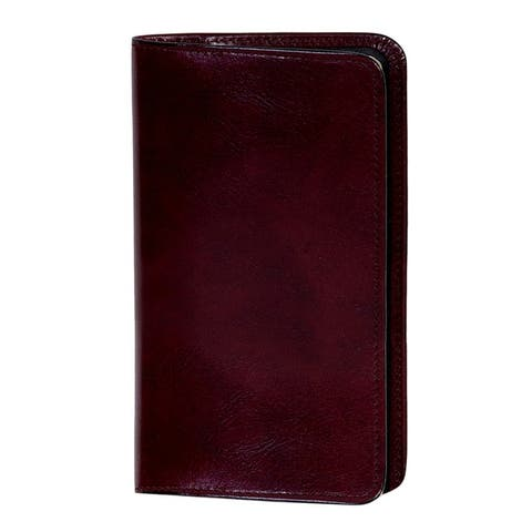 Scully Western Planner Italian Leather Pocket Notebook - One Size