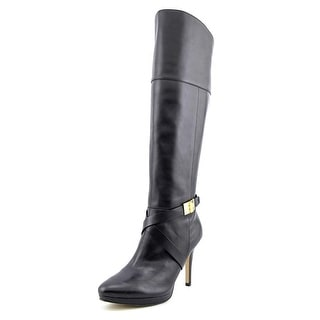 Marc Fisher Tracey 3 Pointed Toe Leather Knee High Boot