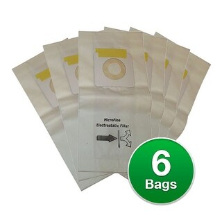 Replacement Vacuum Bag for Bissell Uprights 3525 Vacuum Model (2-Pack)