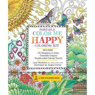 Quarto Publishing - Portable Color Me Kit - Portable Color Me Calm Coloring Kit
