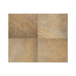 """Daltile AY1320P Ayers Rock - 19-11/16"""" x 13-1/8"""" Rectangle Multi-Surface Tile - Textured Slate Visual - N/A"""