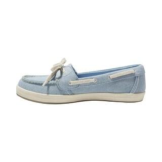 Eastland Womens SKIP Fabric Closed Toe Boat Shoes