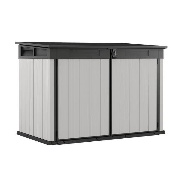 Shop Black Friday Deals On Keter Premier Jumbo Plastic All Weather Outdoor Storage Shed Overstock 31149152