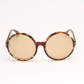 Riley Havana Brown Sunglasses With Brown Gradient Lens