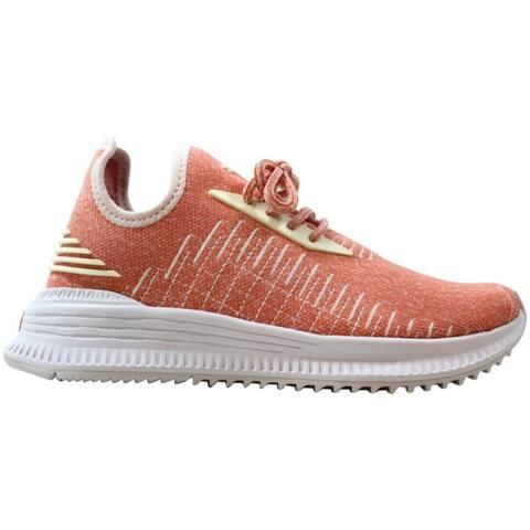 Puma AVID evoKNIT Shell Pink/Puma White 367042 06 Women's Size 6