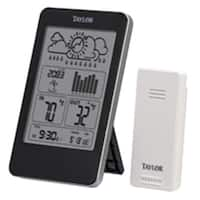 Taylor 1733 Wireless Indoor & Outdoor Thermometer with Barometer