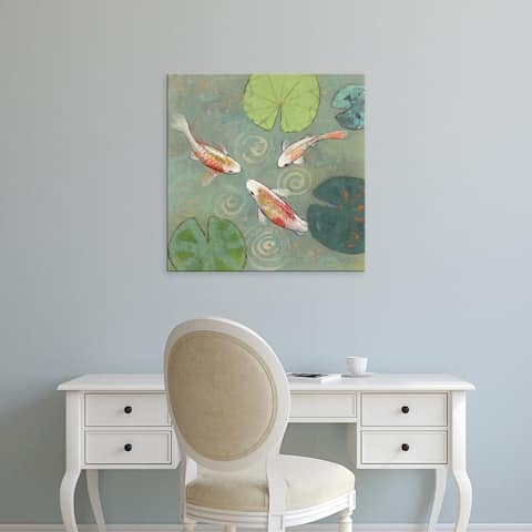 Easy Art Prints Aleah Koury's 'Floating Motion I' Premium Canvas Art