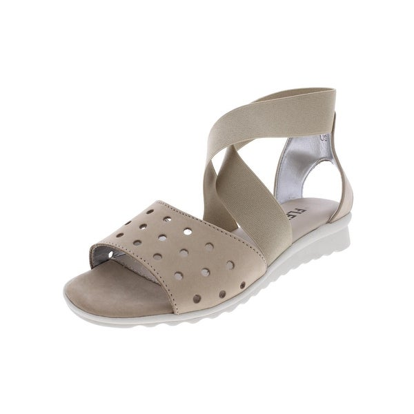 The Flexx Womens Wedge Sandals Open Toe Cushioned