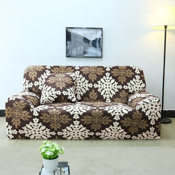 Shop Unique Bargains Polyester Stretch Sofa Slipcovers 2 74 X 90