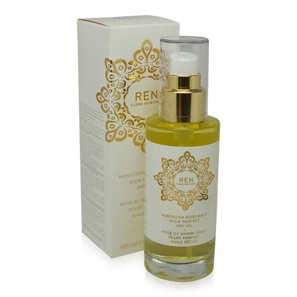 REN Skincare Moroccan Rose Gold Glow Perfect Dry Oil 3.3 Oz