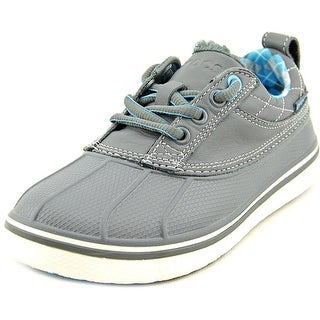 Crocs Allcast Duck Golf Youth W Round Toe Synthetic Gray Sneakers