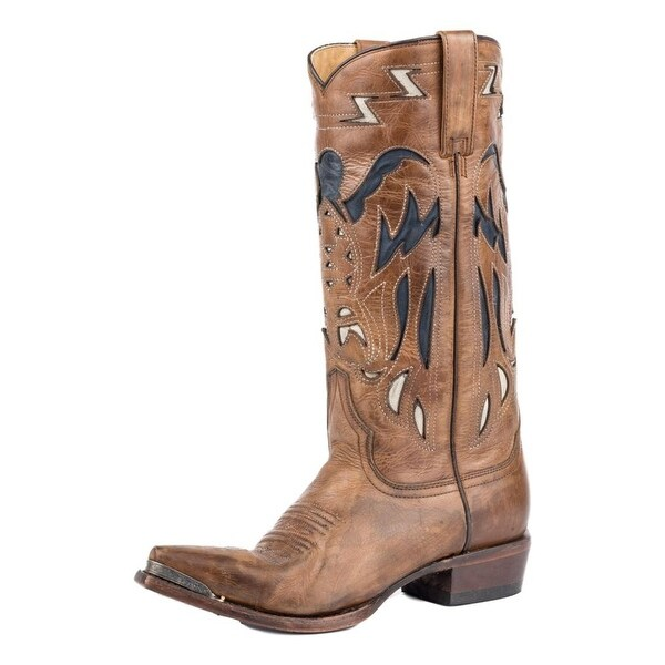 Stetson Western Boots Womens Mamie Brown