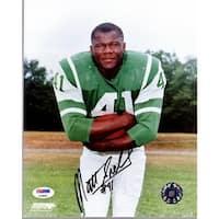 af640cb96e6 Shop CTBL-a16634 Matt Snell Signed New York Jets 8 X 10 B&W Photo ...
