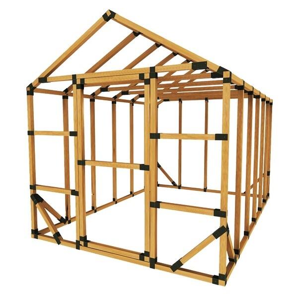 Shop E-Z Frame 8x12 Standard Storage Shed or Greenhouse Kit - 8\'x12 ...