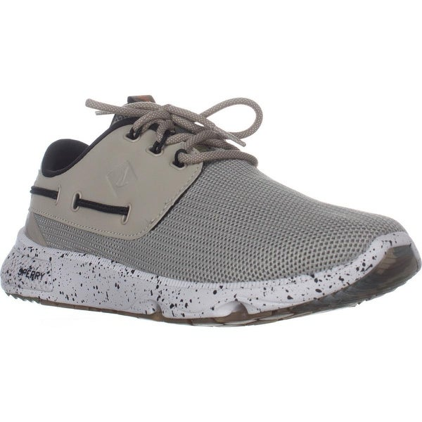 Sperry Top-Sider 7 Seas Sport Shoes, Taupe Camo